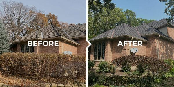 Burr Ridge: Before and After